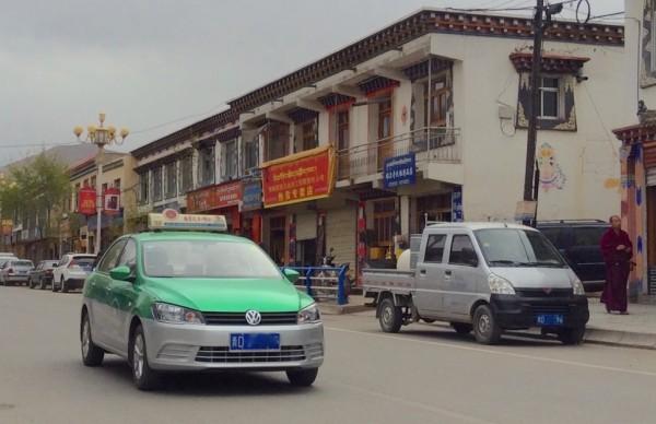 VW Jetta Taxi Tongren China 2016