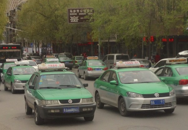 VW Jetta Taxi Xining China 2016