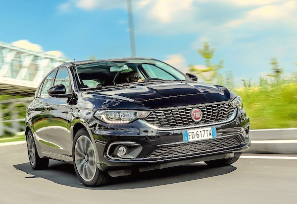 Fiat Tipo Italy July 2016. Picture courtesy quattroruote.it