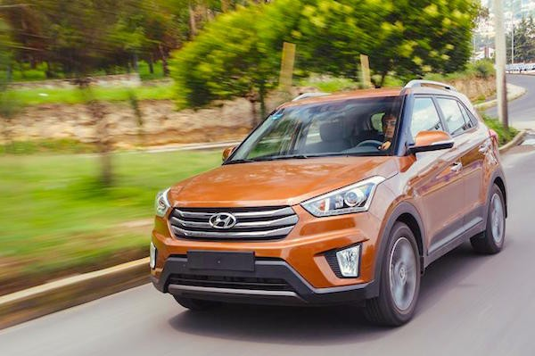 Hyundai Creta Chile September 2016. Picture courtesy autocosmos.com