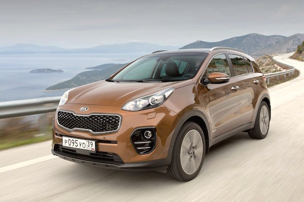 Kia Sportage Ukraine September 2016. Picture courtesy zavodi.ua
