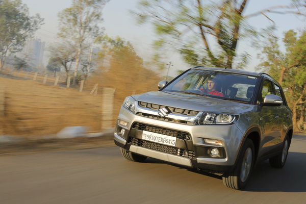 Maruti Vitara Brezza India 2016. Picture courtesy gaadi.com