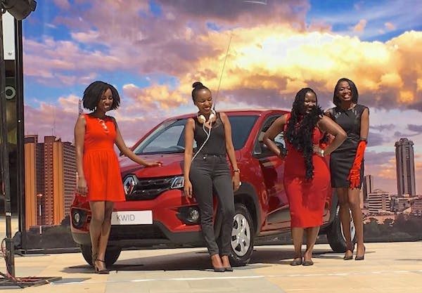 Renault Kwid Kenya June 2016. Picture courtesy indianautosblog.com