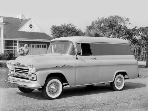1958 Chevrolet Apache 31 Panel Truck