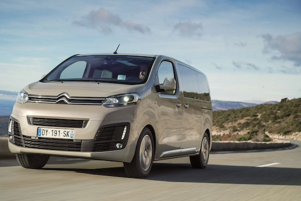Citroen Spacetourer Europe July 2016