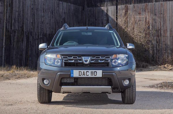 Dacia Duster 2016. Picture courtesy autoexpress.co.uk