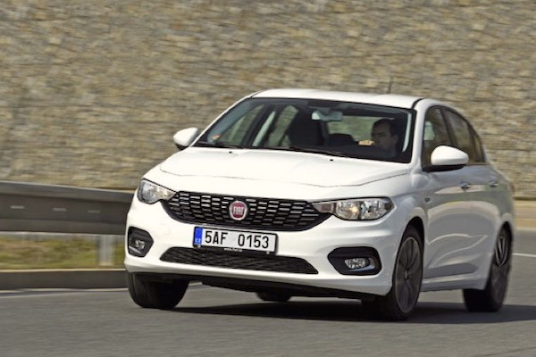Fiat Tipo Poland 2016. Picture courtesy auto.cz