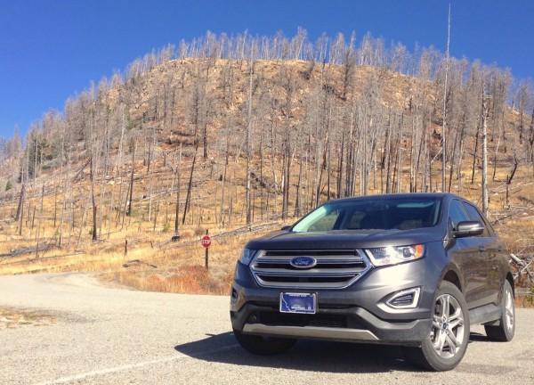 Ford Edge Yellowstone NP