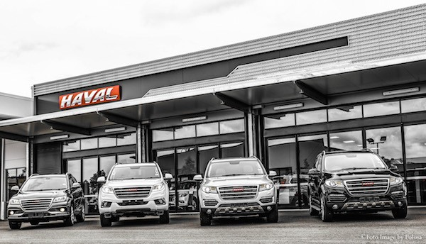 Haval Dealership Australia August 2016