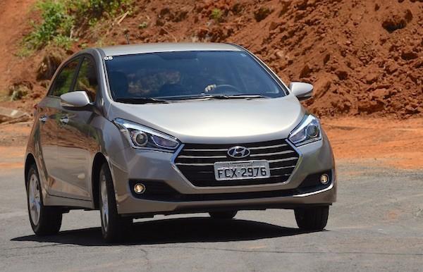 Hyundai HB20 Brazil August 2016