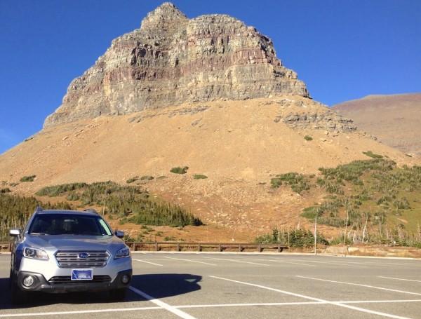 Subaru Outback Glacier NP