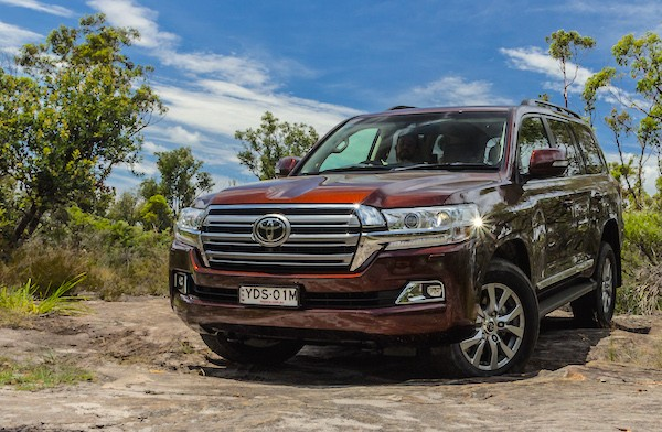 Toyota Land Cruiser Australia August 2016. Picture courtesy caradvice.com.au