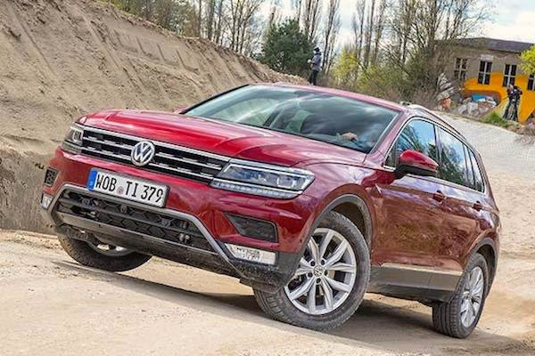 VW Tiguan Germany August 2016. Picture courtesy auto.ndtv.com