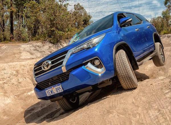 Toyota Fortuner Philippines September 2016