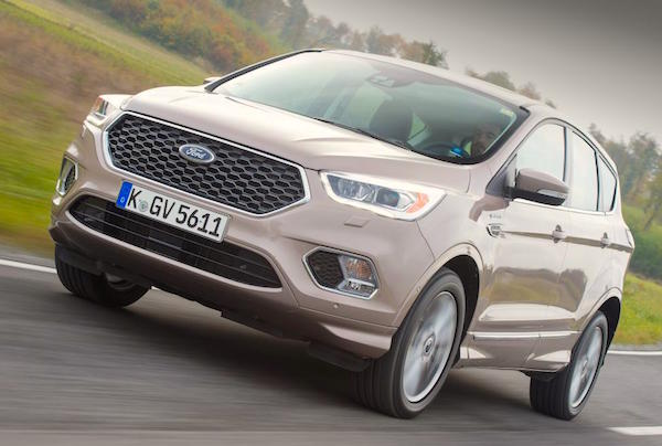 The Ford Kuga Is Up To Third Place Overall In Hungary In March
