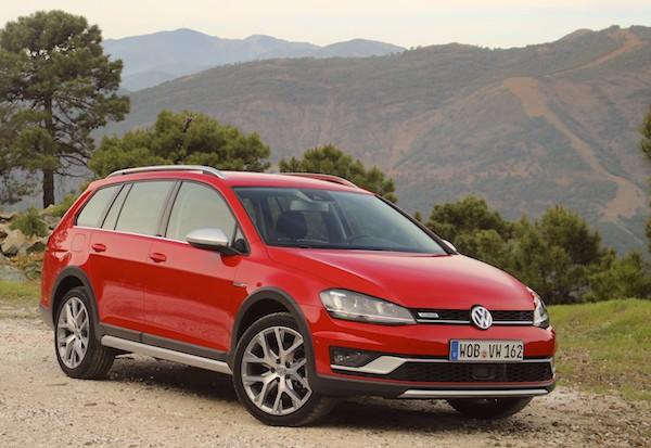 VW Golf Germany 2016