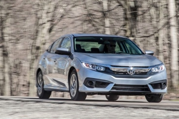 The Honda Civic Is The Best Selling Vehicle In California For The Third  Straight Year.