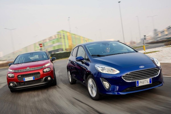 The Ford Fiesta And Citroen C Are The Best Selling Foreign Nameplates In Italy In January