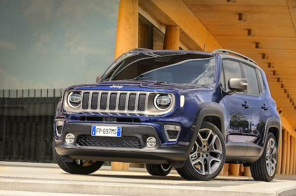 Cyprus October 2018: Toyota Yaris, Jeep Renegade Lead Army