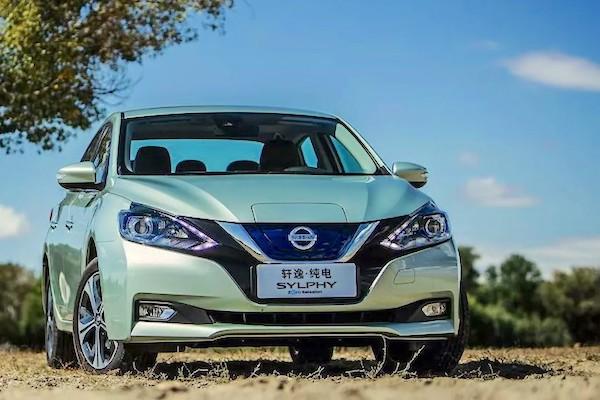 China November 2018 Toyota Nissan Sylphy Break Records 5th