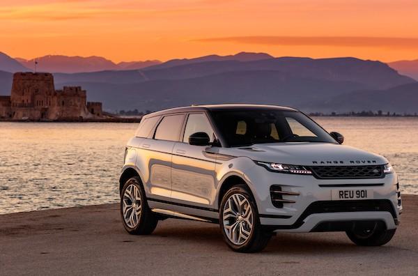 land rover evoque 2020