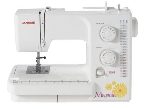 Janome Magnolia 7318 – Janome Option for Serious Beginners