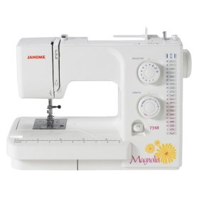 Janome Mangola 7318 sewing machine