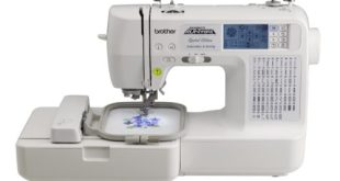 Brother LB6800PRW Review - Embroidery Sewing Machine