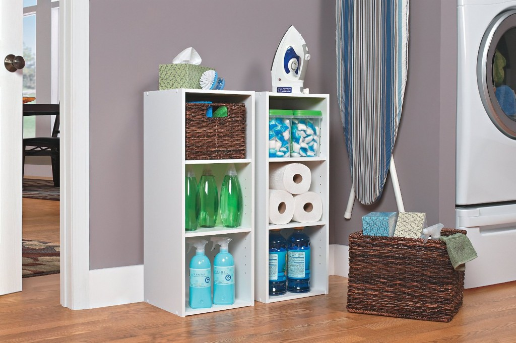 ClosetMaid 8987 Stackable 3Shelf Organizer White color  review