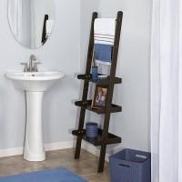 11 Best Bathroom Ladder Shelves for toilet storage-reviews