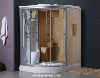 Steam Shower Enclosure with Traditional Sauna B001 - Best ...