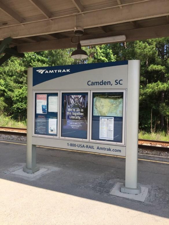 Amtrak Camden, SC Station Information Directory