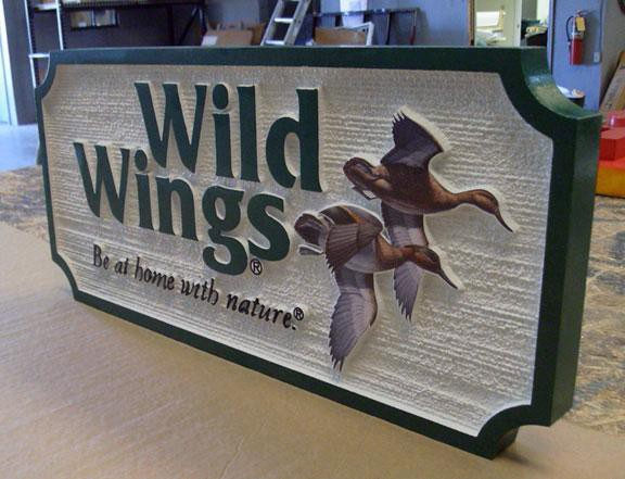 Custom Business Signs Wild Wings