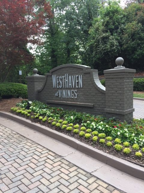 West Haven Apartment Entrance Monument Sign-2