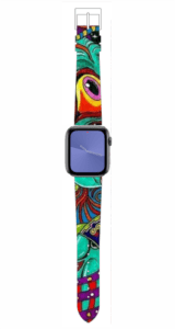 Custom Apple WATCH Band Cool Graffiti Design