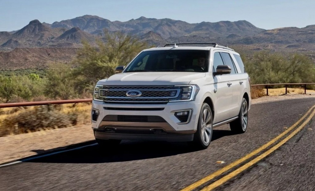 2022 Ford Expedition Spy Photos