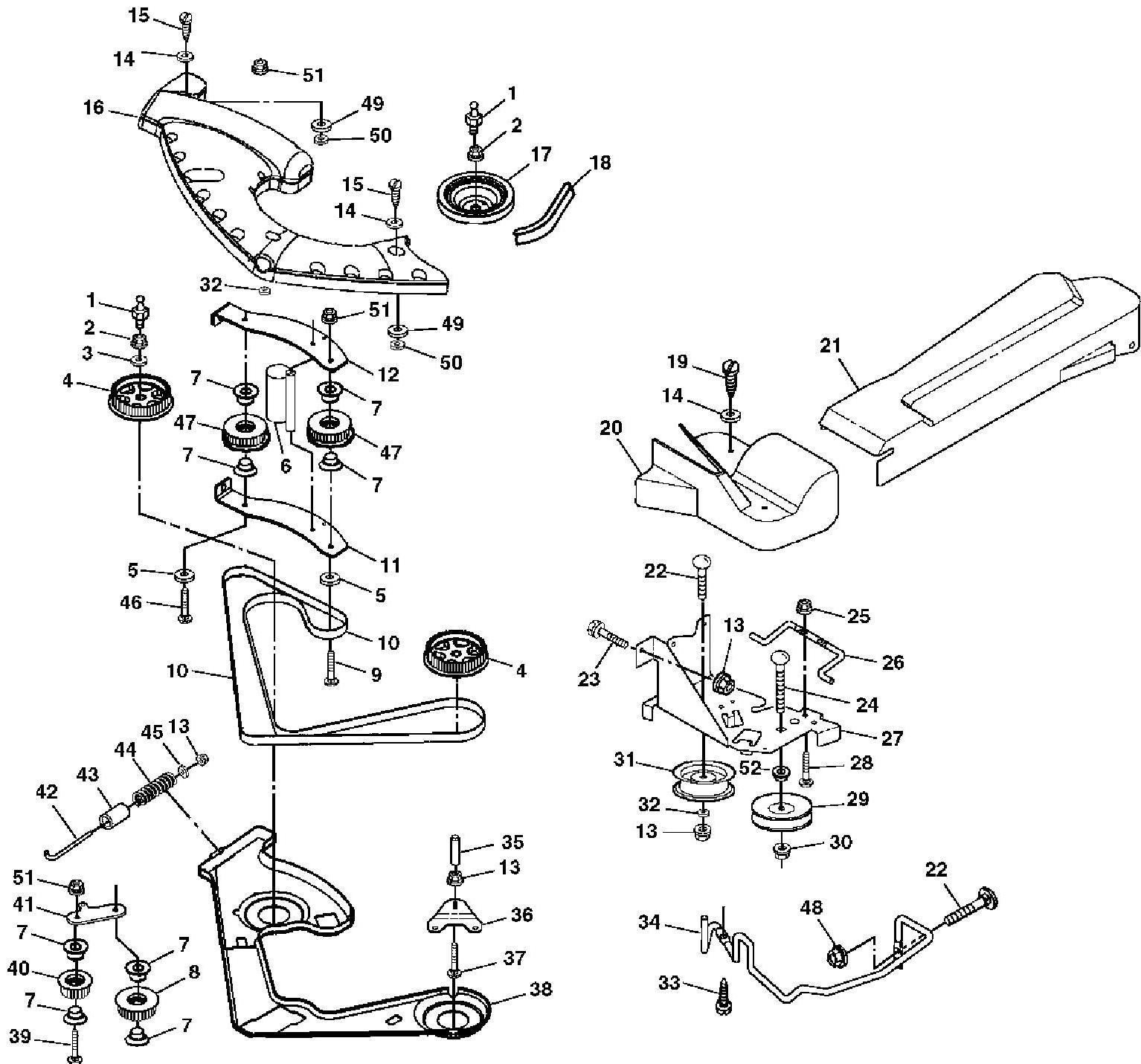 John Deere 180 Parts