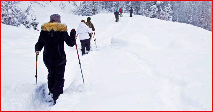Is Snowshoeing Hard?