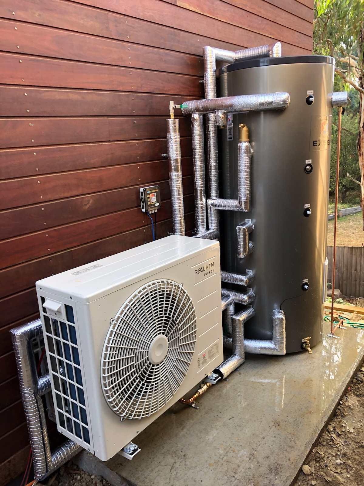 Exegi tank showing professional pipe insulation