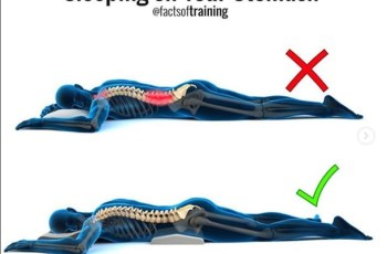 3 Recommended Sleeping Positions (Fitness Tips)