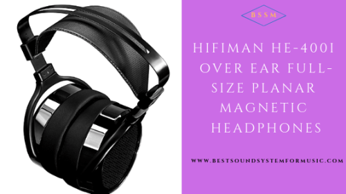 HIFIMAN HE-400I Over-Ear Full-size Planar Magnetic Headphones