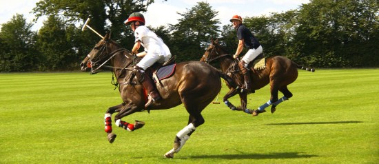 Playing Polo in Marbella