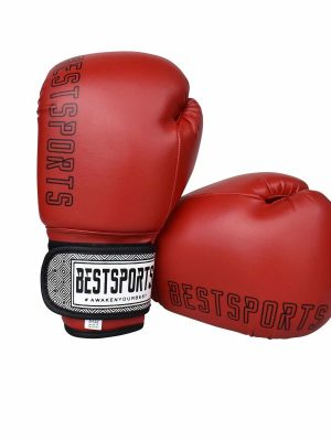 bestsports kids boxing gloves_red (1) (1)