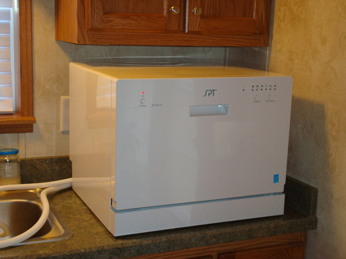 compact appliances for small kitchens kitchen sink hose best spt countertop dishwashers | cheap ...