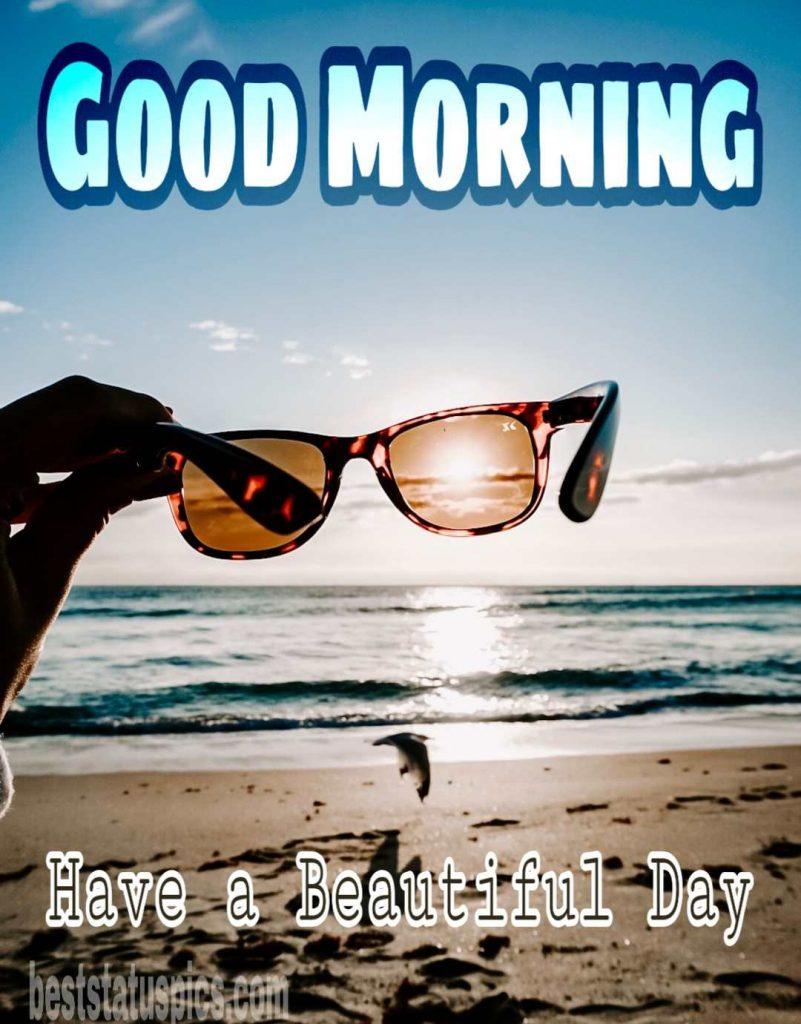 Good Morning Beach : morning, beach, Morning, Images, Seashore, Beach, Status