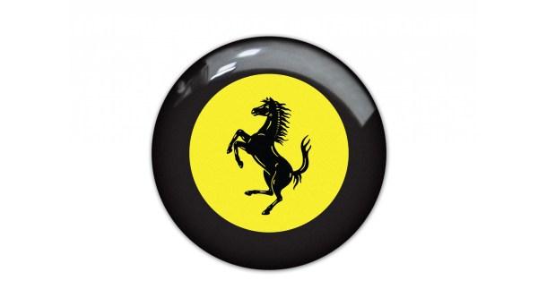 Ferrari Steering Wheel Emblem