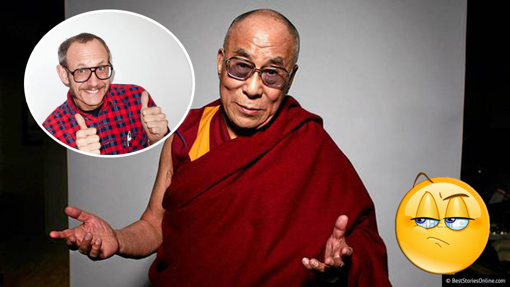 Dalai Lama Photographed By Terry Richardson In New York