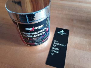 Six Star Pre-Workout Explosion