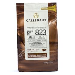 Молочный бельгийский шоколад 33.6% Barry Callebaut 2.5 кг (Барри Каллебаут)  Артикул: 823 NV-T70