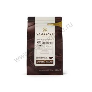 Горький бельгийский шоколад 70.5% Barry Callebaut 2.5 кг